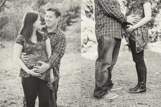 Maternity photos by I CANDI Studios