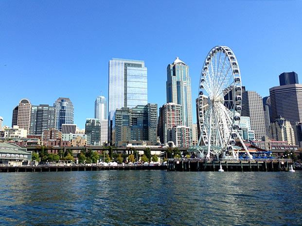 Seattle Waterfront - Puget Sound © 2013 I CANDI Studios
