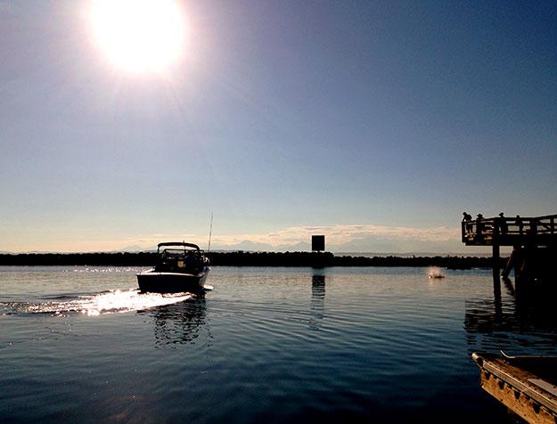 Seattle Sunset at Shilshole Bay Marina © 2013 I CANDI Studios