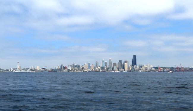 Seattle Skyline &copy 2013 I CANDI Studios