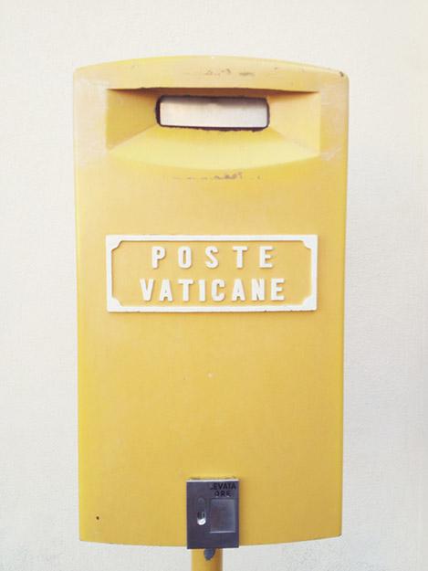 Mailbox at the Vatican © 2013 I CANDI Studios