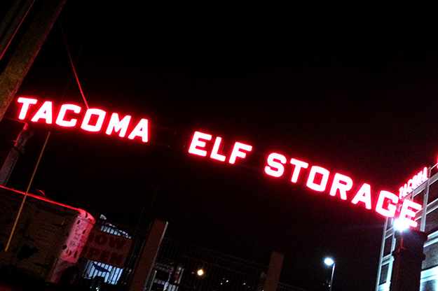 Tacoma Elf Storage