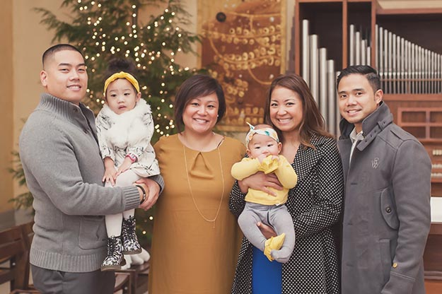 Baptism and family celebration. Photography by I CANDI Studios.