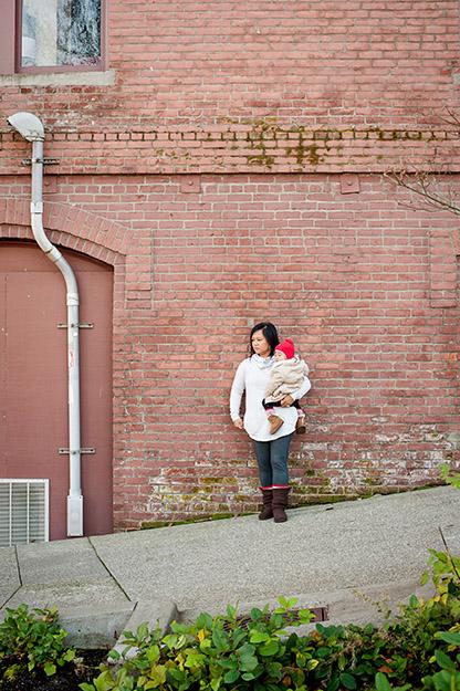 Winter Family photos at UW Tacoma | I CANDI Studios