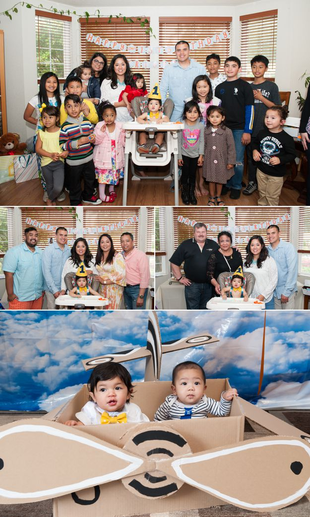 Friends. 1st Birthday Party. - Family Photos by I CANDI Studios. Tacoma, WA