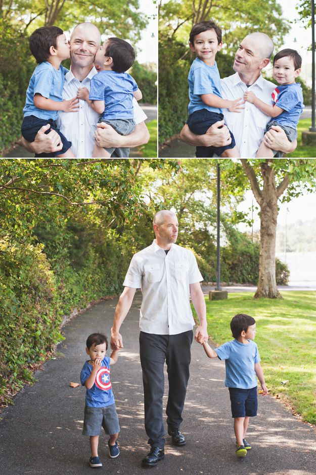 Father and son. Family portraits by I CANDI Studios.