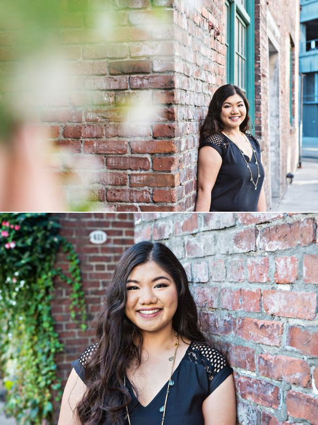 Seattle Senior Portraits - Pioneer Square | Photos by I CANDI Studios