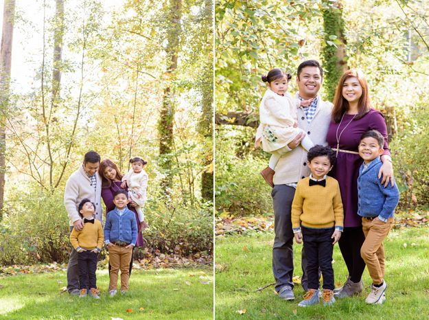 Fall Photos: Family Portraits - Seattle Arboretum - Photography by I CANDI Studios