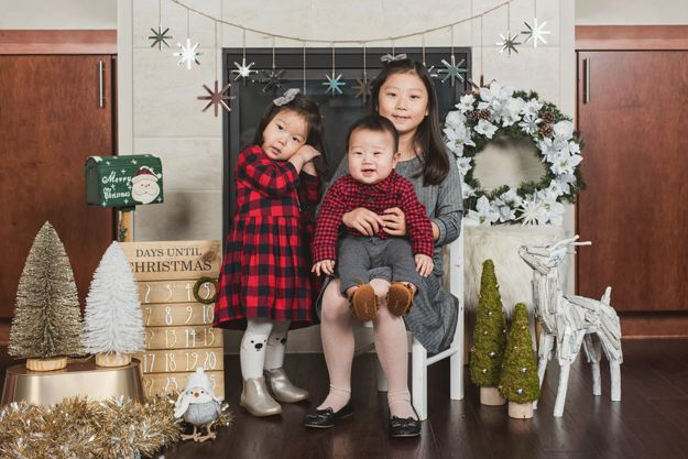 Family Holiday photoshoot by I CANDI Studios