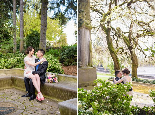 Seattle Wedding | Volunteer Park - Photography by I CANDI Studios